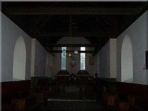 TQ9963 : Inside St Mary's Church, Luddenham by David Anstiss