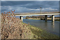 TL4381 : Mepal road bridge by Bob Jones