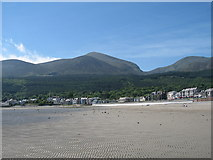 J3830 : The Mourne Mountains From Newcastle Beach by Raymond McSherry