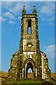 B9219 : Dunlewy - Front NE view of derelict church by Joseph Mischyshyn