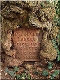 SX9065 : Notice, Chapel Hill Pleasure Grounds by Derek Harper