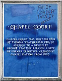 NZ0516 : Chapel Court Drug Culture by Andy Waddington
