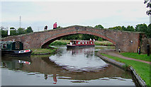 SJ9922 : Great Haywood Canal Junction, Staffordshire by Roger  Kidd