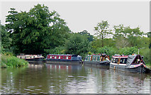 SJ9922 : Trent and Mersey Canal at Great Haywood, Staffordshire by Roger  Kidd