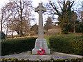 TM2348 : War Memorial, Great Bealings by Adrian Cable