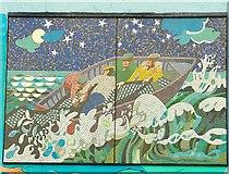 J3829 : Mosaic, Newcastle harbour (2) by Albert Bridge