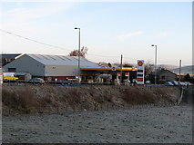 NT4728 : Ladylands Filling Station on the outskirts of Selkirk by Mark Hope