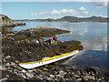 NB9607 : Landing on Tanera Beg by Andy Waddington