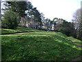 SX9372 : Homeyards Botanic Garden, terraces by Robin Stott