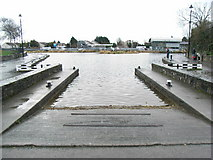 N9337 : Slipway at the Royal Canal basin in Maynooth, Co. Kildare by JP