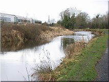 N9437 : Royal Canal east of Maynooth, Co. Kildare by JP