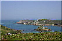 SV8815 : Cromwell's Castle and Hangman Island from Bryher by Graham Loveland