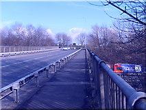 SO9999 : Churchill Road Bridge by Gordon Griffiths