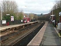 SE0125 : Mytholmroyd Station by Humphrey Bolton