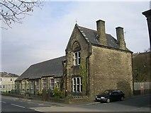 SD9322 : Walsden Junior School - Rochdale Road by Betty Longbottom