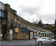 SJ9698 : Railway Arches by Gerald England