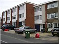 SP2965 : 1960s Town houses, Emscote Gardens by Robin Stott