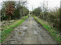 SP0404 : Trackbed of the Midland and South Western Railway, near Baunton by Brian Robert Marshall
