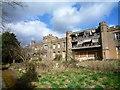TQ1983 : Twyford Abbey - western elevation by J Taylor