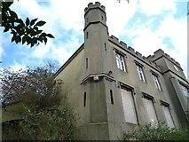 TQ1883 : Twyford Abbey - northern corner of western elevation by J Taylor