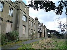 TQ1883 : Twyford Abbey - western elevation by J Taylor