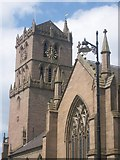NO4030 : St. Mary's Tower, Dundee by C L T Smith
