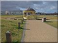 NZ3279 : Bandstand, South Beach, Blyth by wfmillar