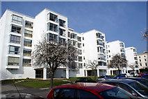 SP3265 : Modern flats by Colin Craig