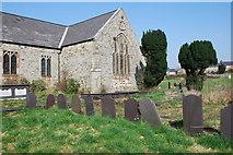 SH4862 : Eglwys Llanbeblig by Alan Fryer