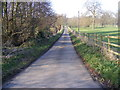 TM3769 : Hollow Lane (New Road), Sibton by Adrian Cable