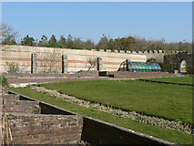 SS8872 : Walled garden, Dunraven Castle. by Mick Lobb