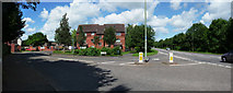 SS9612 : Tiverton : Queensway & Heathcoat Way by Lewis Clarke