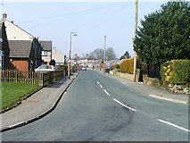 SE0729 : Tewit Lane from School Lane, Illingworth, Halifax by Michael Steele