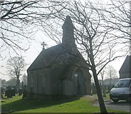 SE5023 : Cemetery Chapel - Womersley Road by Betty Longbottom
