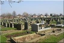 SE5023 : Knottingley Cemetery - Womersley Road by Betty Longbottom