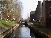 SJ6902 : Canal at the Coalport China Museum by Mike White