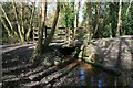 SX0049 : Bridge in Peckhill Wood by John Gibson