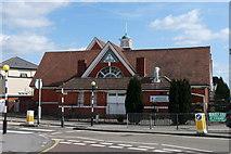 TQ3266 : Ahmadiyya Mosque, Croydon by Peter Trimming