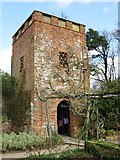 TQ1352 : The Water Tower in the Rose Garden, Polesden Lacey by Chris Reynolds