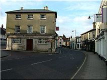 TM3863 : Saxmundham High Street looking north by John Goldsmith