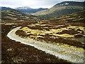 NN9678 : Track from Glen Tilt to Glen Tarf by wrobison