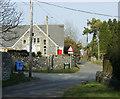 ST6149 : 2009 : The school on the corner, Binegar by Maurice Pullin