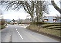 NJ5612 : Junction of A980 with road to Towie by Stanley Howe