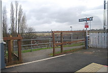 SD7807 : The way out, Radcliffe Metrolink Station by N Chadwick