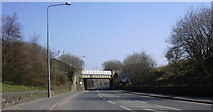SD7328 : Rail Bridge, Blackburn Road by Robert Wade