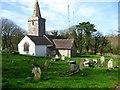 SM9202 : St Marys church at Pwllcrochan by Shaun Butler