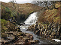 NS3162 : Waterfall, River Calder by wfmillar