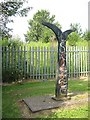 NS7264 : National Cycle Network milepost by Richard Webb
