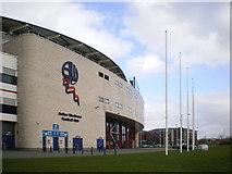SD6409 : Reebok Stadium, South side by Alexander P Kapp