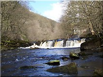 SK1985 : Waterfall on the Derwent by Martin Speck